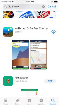 Find the app in the app store/google play