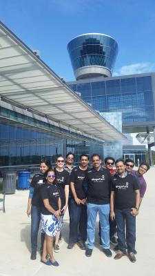 Brand USA MegaFAM at Udvar-Hazy Center