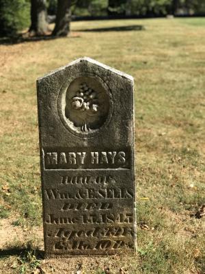 Indian Run Cemetery Headstone