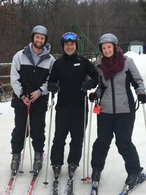 Spring Mountain Ski Lesson Jessica Lawlor
