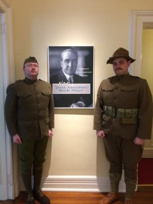 WWI Re-enactors
