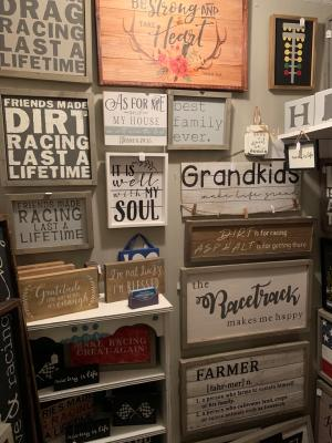 Wood Signs and Decor at Seek and Find