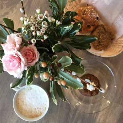 Flowers and Bread