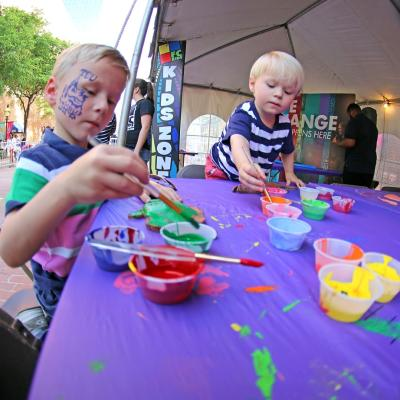 Main Street Arts activities