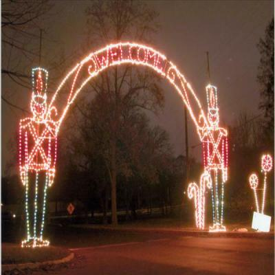 Year after year, the toy soldiers welcome thousands of people to the Fantasy of Lights!
