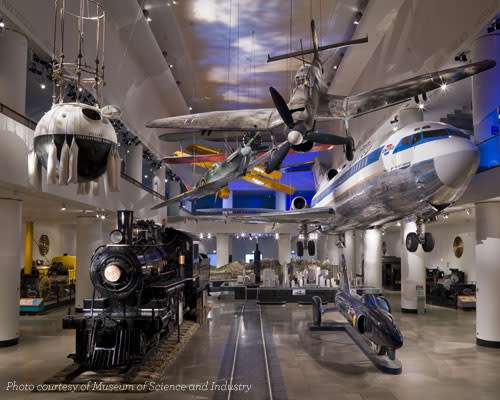 Museum of Science and Industry - Planes and Trains - Blog