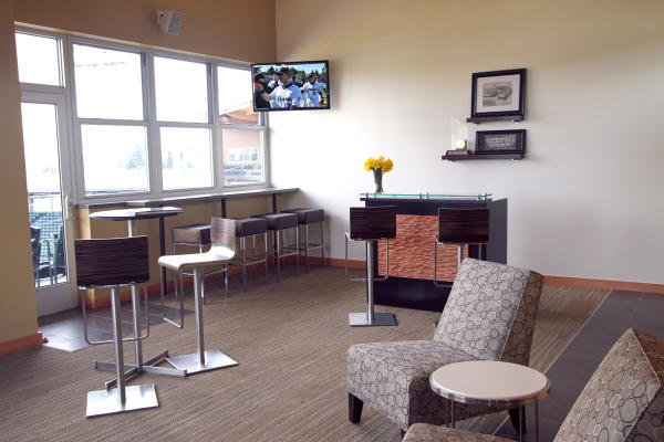 Suite at Cheney Stadium