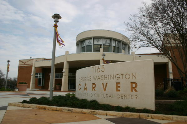 George Washington Carver Museum -Exterior