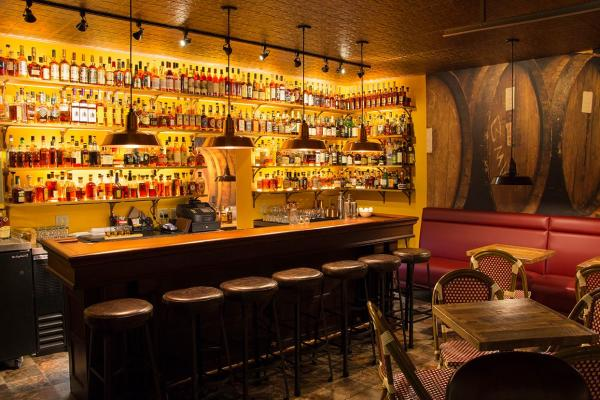 Newberry Brothers Cofee & the Prohibition Bourbon Bar