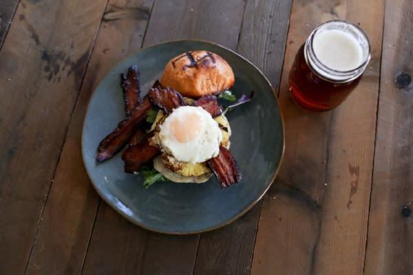 SeaSalt Woodfire Burger - Aussie Burger