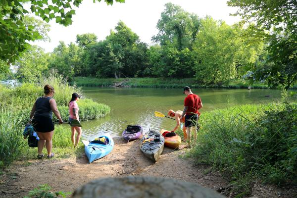 Fort Worth Nature kayak tour
