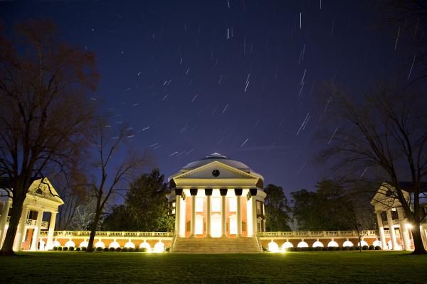 UVA Rotunda Night