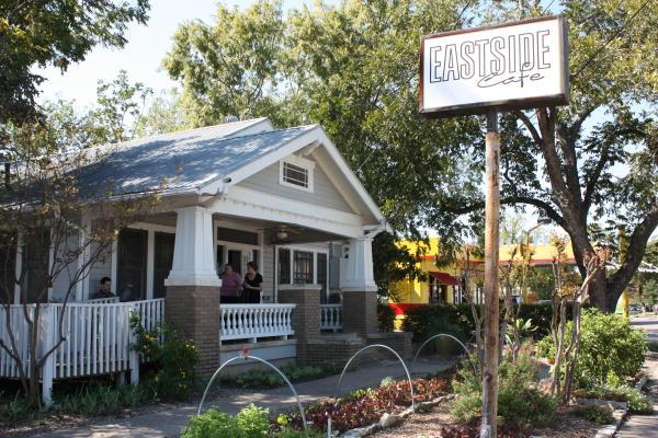 Exterior of Eastside Cafe