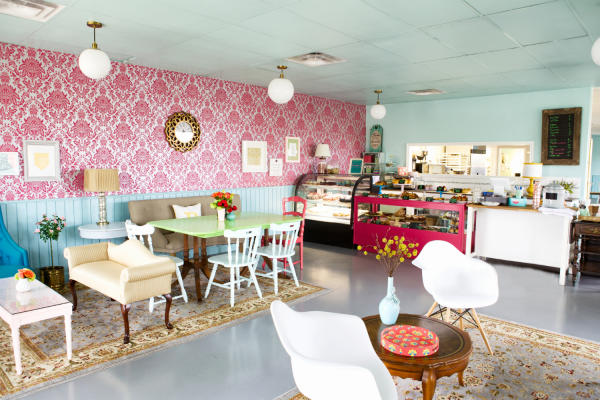Bribery Bakery interior