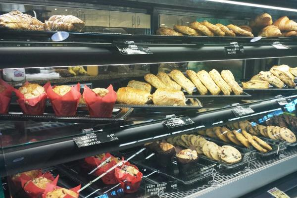 Central Market's grab and go pasty case