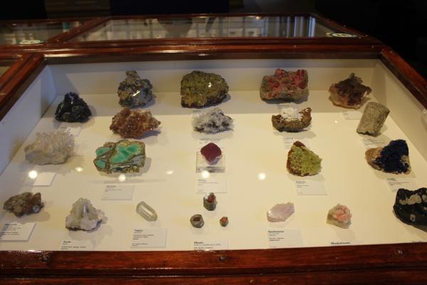 Harvard Museum of Natural History rocks