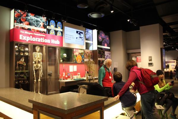 Museum of Science Exploration Hub