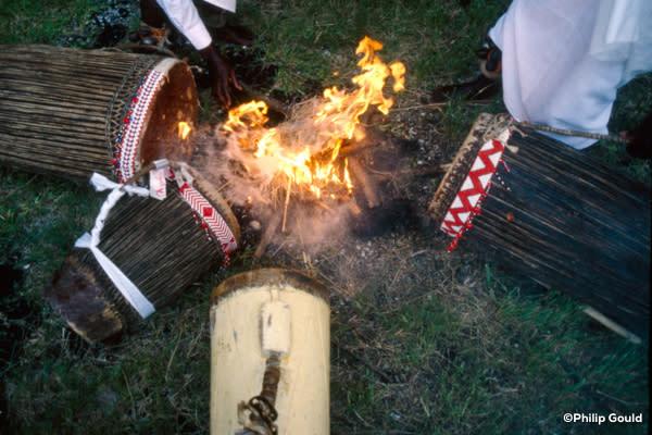 ©1987 Philip Gould 87FEIN00077 Heat Tuning drums FI_