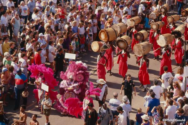 ©Philip Gould 91FEIN00651 Street Parade Fest Intl 1991
