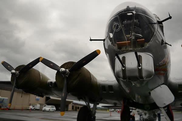 B-17 Bomber by Colin Morton