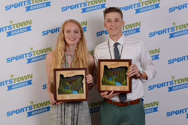 Male and Female Student Athletes of the Year by Colin Morton