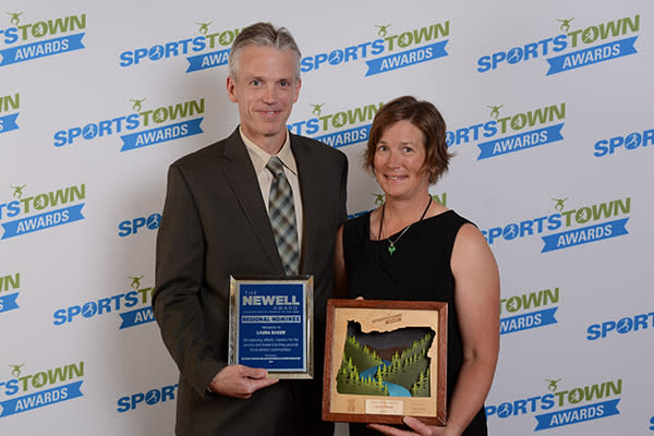 2017 SportsTown Awards Athletic Trainer of the Year by Colin Morton
