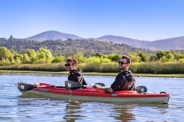 Kayaking on Napa River
