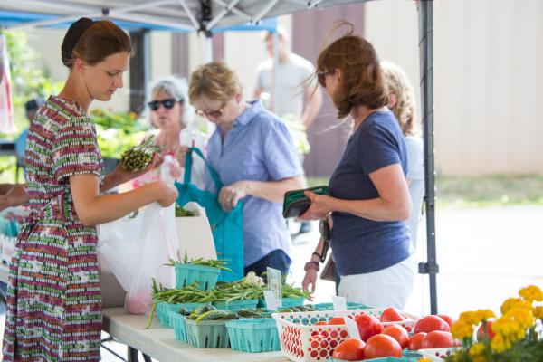 Farmer's Market Shoppers