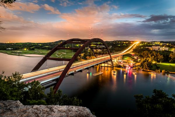 Lake Austin and 360 Bridge