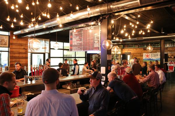 Starr Hill taproom