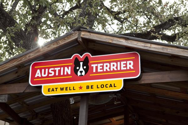 Patio at Austin Terrier.