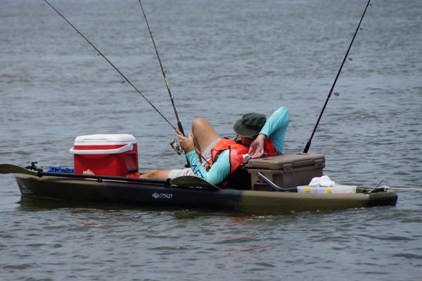 Ride the Bull Kayak Fishing Tournament