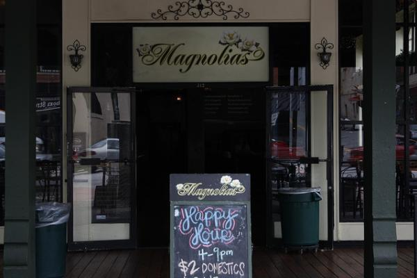 Magnolias Bar in Athens, Ga.