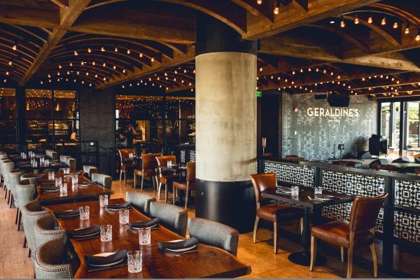 Geraldines restaurant Interior