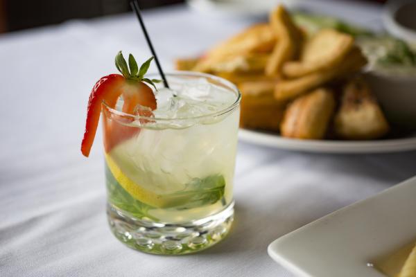 Club Soda - Strawberry Haze Drink - Dining - Fort Wayne, Indiana