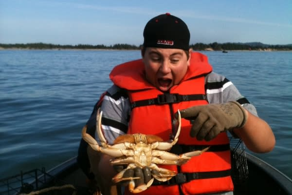 O's Eco Adventures Crabbing by David Oehler