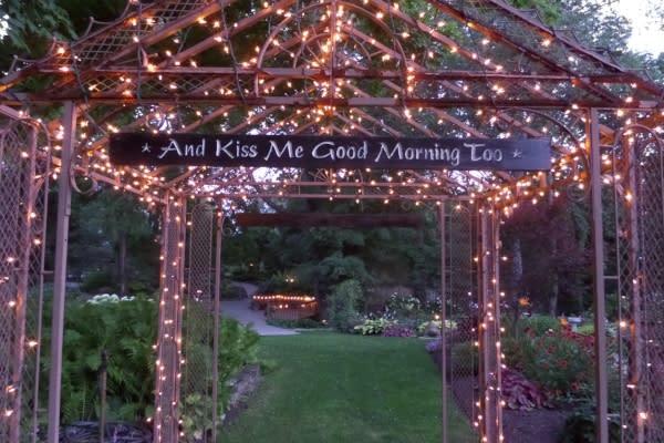Copy of Avon Gardens wedding sign