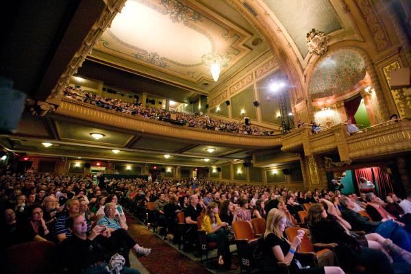 show at the Paramount Theater interior