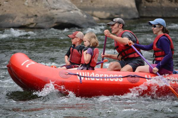 Rafting on the Middle Yough