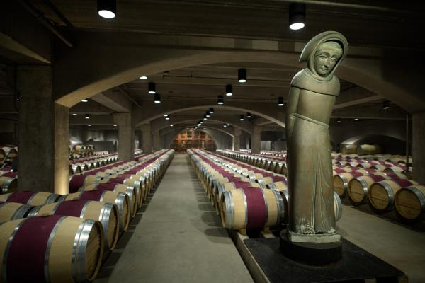 Robert Mondavi Barrel Room