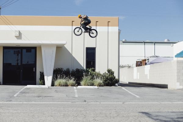 Huntington Beach Dakota Roche Vans BMX