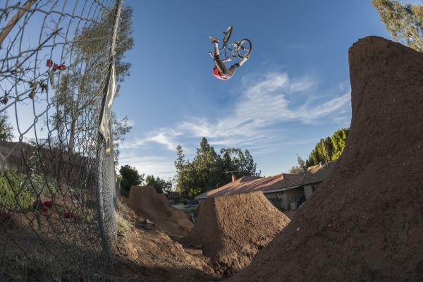 Mike Clark Huntington Beach Vans BMX Event