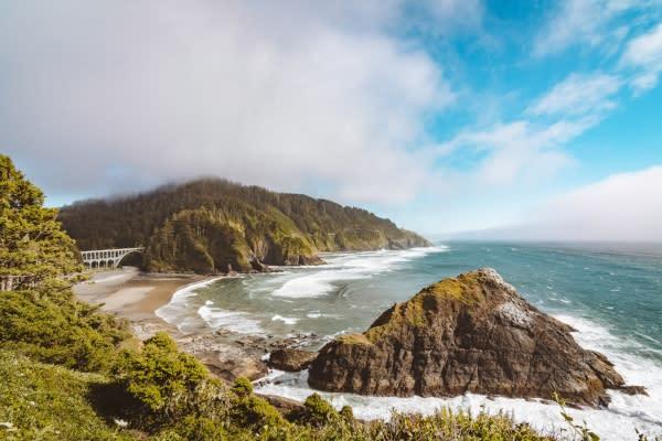 Oregon Coast by Taylor Higgins