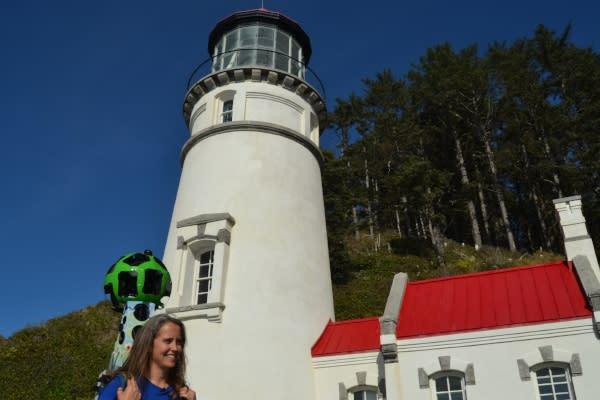 Google Trekking the Heceta Head Lighthouse