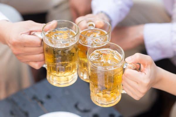 Cider or Beer Toast