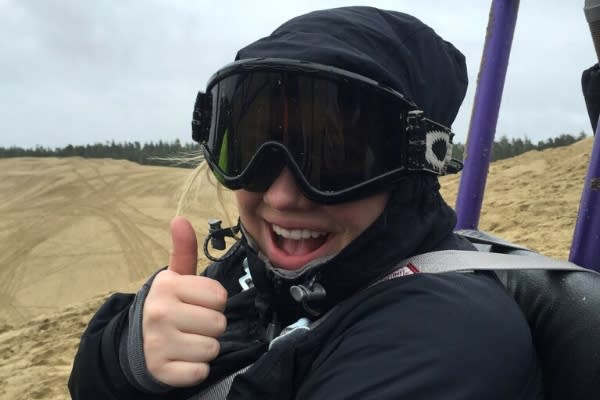Thumbs Up Dune Ride by Hayley Radich