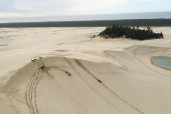 Dune Buggies on the Oregon Coast by Eugene, Cascades & Coast