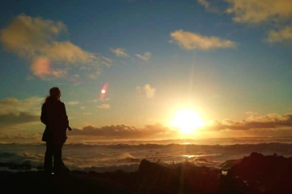 Oregon Coast Sunset by Jesse Lally
