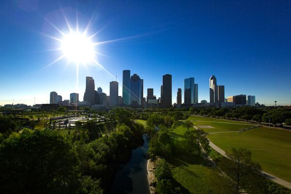Skyline And Bayou Houston