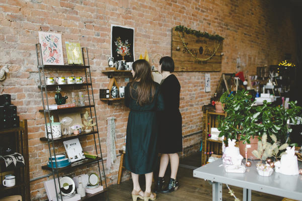 Fancy and Staple Boutique in Fort Wayne, Indiana Festive Decorations